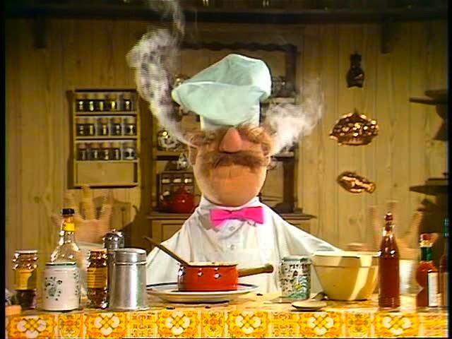 Image result for swedish chef sad