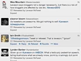 tweet lev pedestrian + BLOGGERS NOT NECESS A DANGER Screen Shot 2012-12-12 at 01.02.11