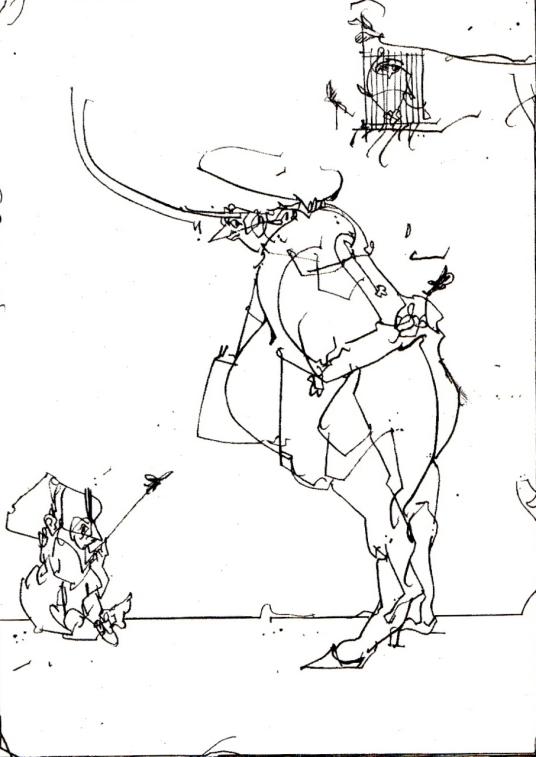 Drawing by Sascha Juritz