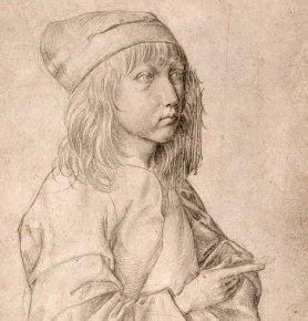 Albrecht Dürer: self-portrait, aged 13