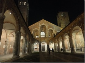 Sant'Ambrogio, 6.30 am, 31.12.2013 - photographs by MIL22