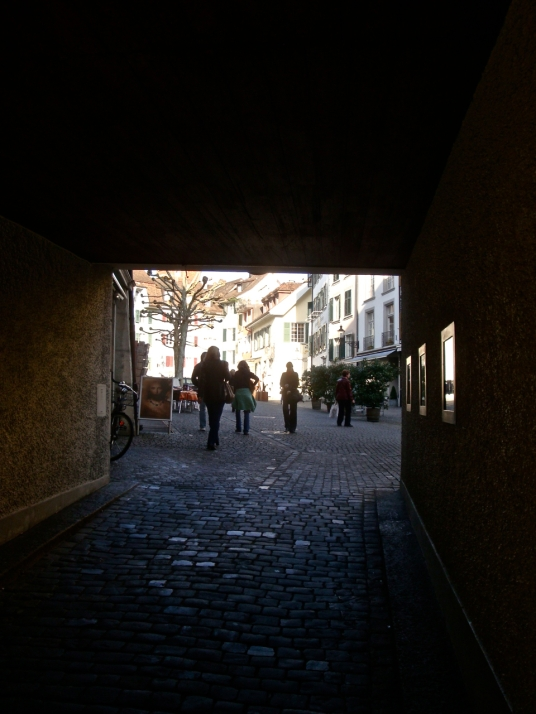 Secret, shadowy, tunnels into our lives, 2 - photograph: postgutenberg@gmail.com