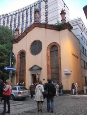 easter -- russian orthodox church, milan, may 2013