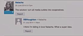 censors IN the press - NATACHA
