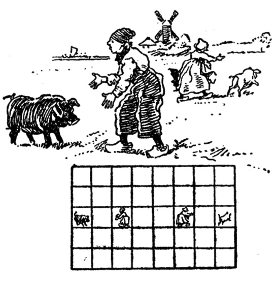 from The Canterbury Puzzles - Henry Ernest Dudeney, 1907
