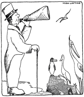 Guardian members will expect to share its media megaphone – on virtually equal terms - Hugh Lofting drawing for a book in his Doctor Dolittle series (1920-52)