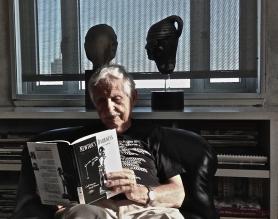 Carl Djerassi in the late summer of 2013 - postgutenberg [at]gmail.com
