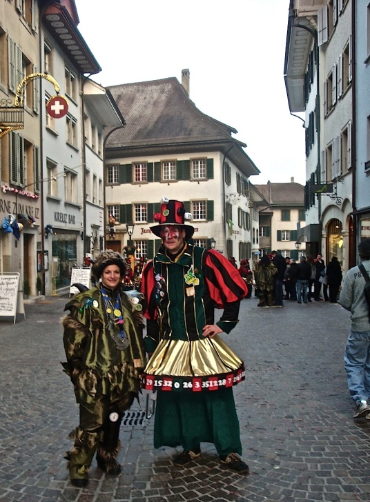 Fasnacht is being celebrated, now, in Olten, which is at centre-stage in a tale of two cities in a two-part photo essay on Exposure.co (part 1 and part 2).