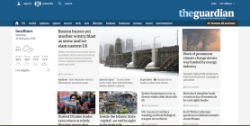 With artists in London ready to throw themselves at its feet, why did The Guardian chosen to look like an extension of Facebook.com in its latest redesign?