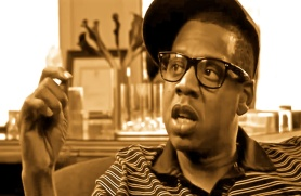 Jay Z explaining what is obvious, in our view -- that rap is poetry  Jay Z explaining on Youtube what should be obvious, in our view -- that rap is poetry