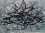 Mondrian Gray Tree 1911 arrblogbybob