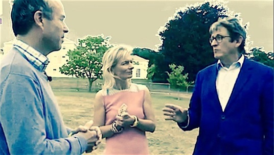 Three editors: Lionel Barber of The Financial Times interviews http://video.ft.com/5113031401001/Lionel-Barber-discusses-future-of-media/Life-And-Arts Alan Rusbridger, who led The Guardian for 20 years, and Zanny Minton Beddoes{{{CK SP}}}} of The Economist. The dark shape racing towards them looks like the chiefly Facebook-shaped digital juggernaut they are discussing with commendable calm.